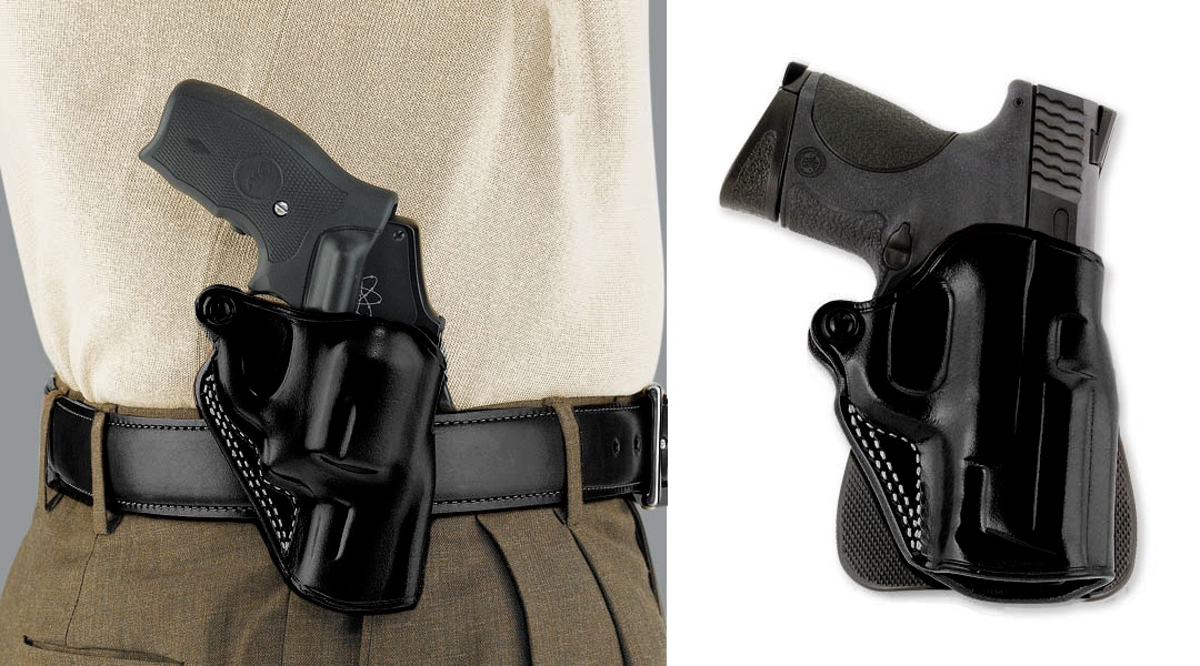 Galco Ruger LCR Speed Paddle Holster Right Hand Black