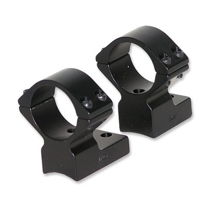 Talley Lightweight Alloy Mount Combo - Extended - Black Anodized - 1