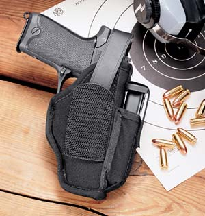 Uncle Mike's Ambidextrous Hip Holsters Up to 2 1/4