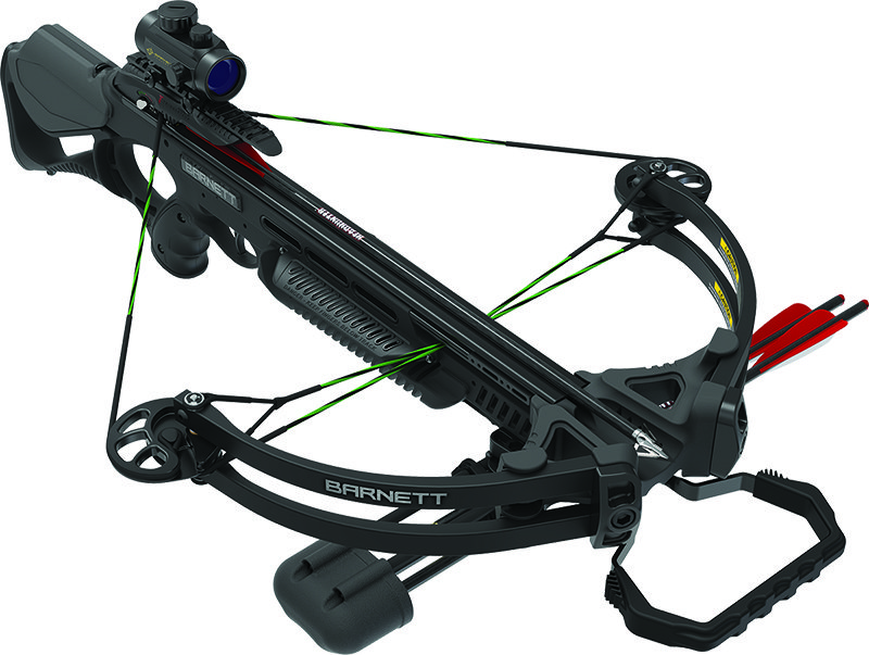 Barnett Wildcat C7 Crossbow Package with 4x32mm Multi-Reticle Scope &  TriggerTech Frictionless Release Technology - Black