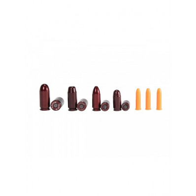 TacStar A-ZOOM Variety Pack NRA Instructor 3-.22LR, 2 each .380,9mm,.40,.45
