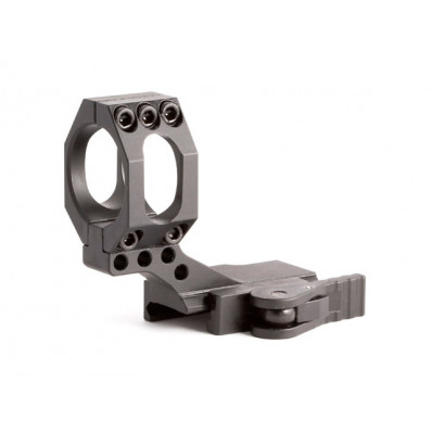 American Defense Mfg. Mount Fits Aimpoint Picatinny Quick Release Cantilever Black AD-68C