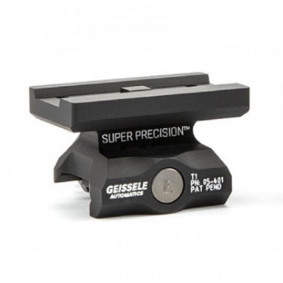 Geissele Automatics Super Precision  Mount  Fits Aimpoint T1  Lower 1/3 Co-Witness  Black 05-469B