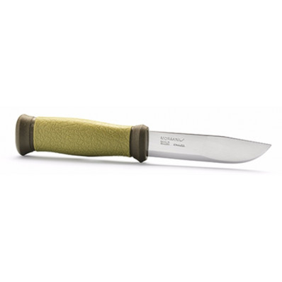 "Morakniv 2000 Knife - Military Green Stainless 4.3"" Blade and 8.7"" Overall Length"