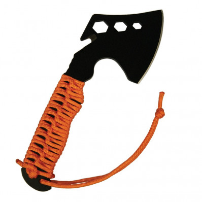 UST - Ultimate Survival Technologies ParaHatchet FS with Paracord Handle and Fire Starter - Orange