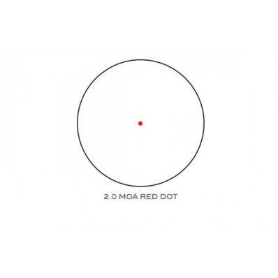 2.0 MOA Red Dot Reticle
