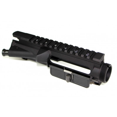 Bravo Company Upper Receiver Assembly Mil-Spec 1913 Rail for Mounting Optics and Accessories Flat Top Black BCM4-UR-M4