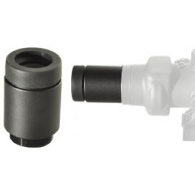 Lucid Optics 2x Magnifier - Threaded for HD7 & M7 Red Dot - Black