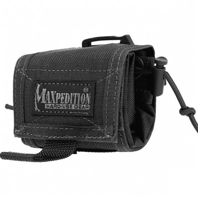 Maxpedition Rollypoly MM Folding Dump Pouch - Black