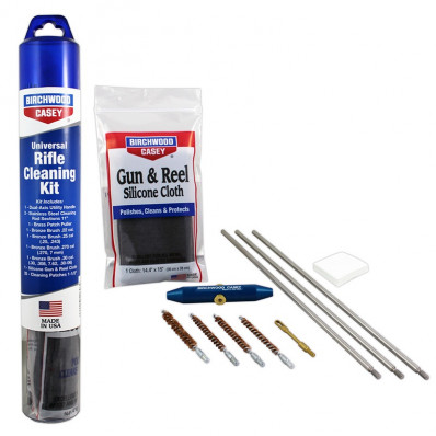 Birchwood Casey Universal Rifle Stainless Steel Cleaning Kit