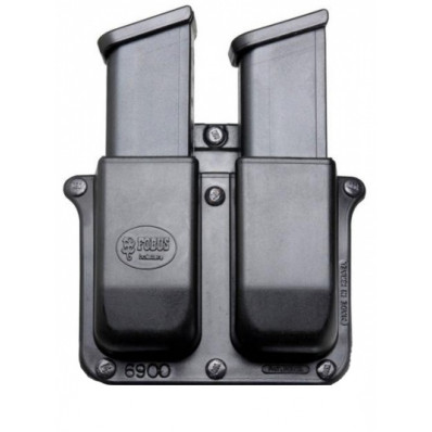 Fobus Glock, H&K 9mm, .40 Double Magazine Belt Pouch Double-Stack