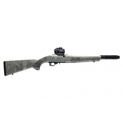 Ruger 10-22 Takedown Rub. OM Stock w/Standard Barrel Chan. Ghillie Green