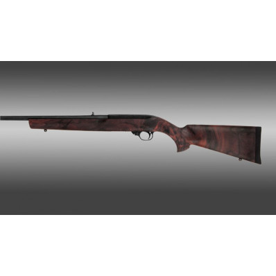 "Hogue Ruger 10-22 .920"" Barrel Red Lava Rubber OverMolded Stock"