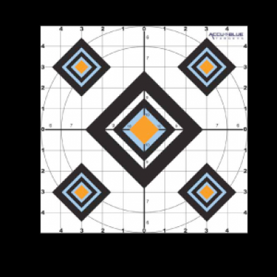 Do-All Outdoors Target - Black Diamond 10X10 10 Pack