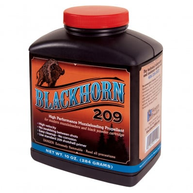 Accurate Powder Blackhorn 209 Muzzleloader Powder 10 oz