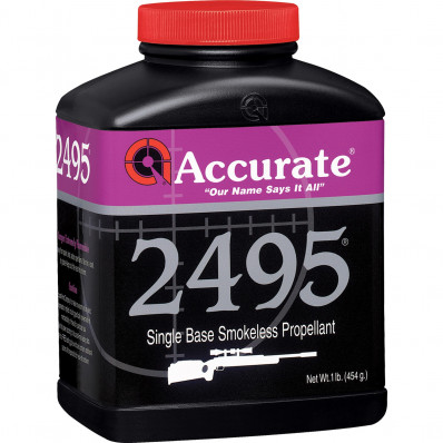 Accurate Powder 2495 Rifle Powder 1 lbs