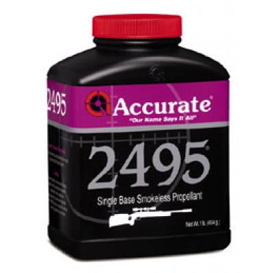 Accurate Powder 2495 Rifle Powder 8 lbs
