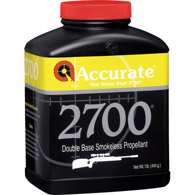 Accurate Powder 2700 Rifle Powder 1 lbs
