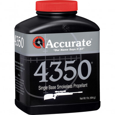 Accurate Powder 4350 Rifle Powder 1 lbs