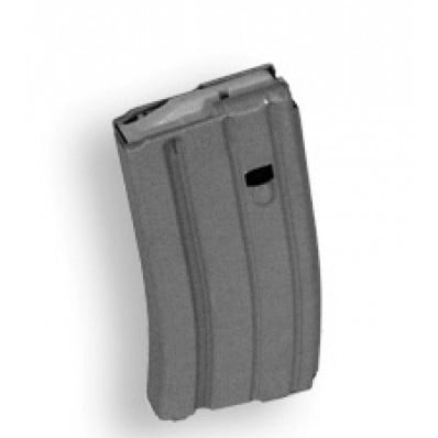 A.S.C. .223 Remington Aluminum Grey 20 Round Magazine with Grey Follower