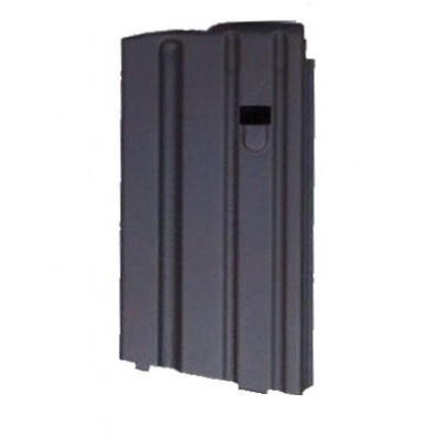 A.S.C. AR Family Rifle Magazines with Black Follower - .223 Remington, Black Stainless Steel, 20 rds.