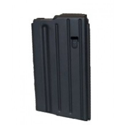 A.S.C. AR Family Rifle Magazines with Black Follower - .308 Winchester, Black Stainless Steel, 20 rds.