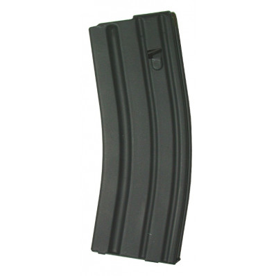 A.S.C. AR Family Rifle Magazines with Black Follower - .223 Remington, Black Stainless Steel, 30 rds.