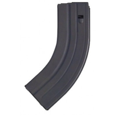 A.S.C. AR Family Rifle Magazines with Black Follower - 7.62x39mm, Black Stainless Steel, 30 rds.