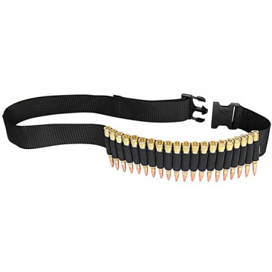 Allen Rifle Cartridge Belt 20-Rounds Black