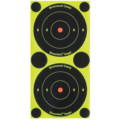 "Birchwood Casey Shoot-N-C 3"" Bull's Eye Targets"
