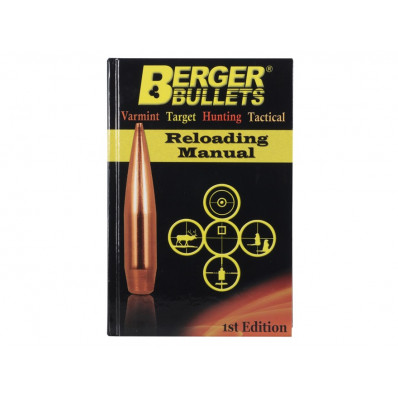 Berger Bullets Reloading Manual - 1st Edition