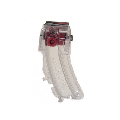 Butler Creek Steel Lips Banana Magazine - Ruger .10/.22, Clear Polymer, 25 rds. #M0112562