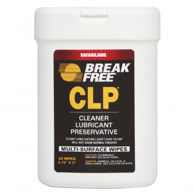 "Break-Free 6"" x 3"" Multi-Purpose Weapon Wipes"