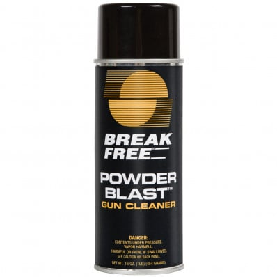 Break-Free Powder Blast Areosol Gun Cleaner