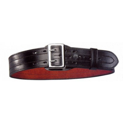 "Bianchi Model B1 Deluxe Sam Browne Belt, 28"" Plain Black"