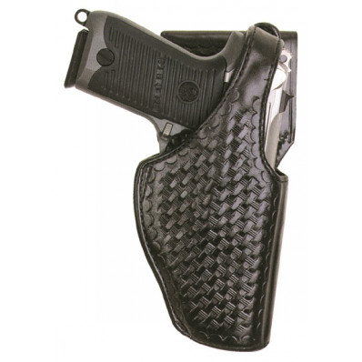 Bianchi Model 97A Grabber Holster, S&W 690, Right Hand, Basket Black