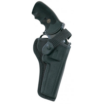 "Bianchi Model 7000 AccuMold Sporting Holster, S&W 19, 586 6"", Right Hand, Black"