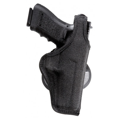 Bianchi Model 7500 AccuMold Paddle Holster, Glock 17, 20, 21, Right Hand, Black