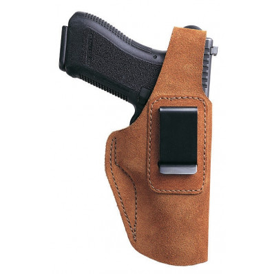"""Bianchi Model 6D ATB Waistband, S&W 10-07, 64-3, 66 4"""", Right Hand, Rust Suede"""