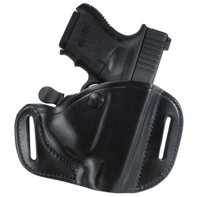 Bianchi Model 82 CarryLok Hip Holster, Colt Government, Right Hand, Plain Black