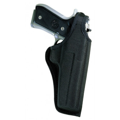 "Bianchi Model 7001 AccuMold Thumbsnap Holster, Colt Anaconda 4"", Right Hand, Black"