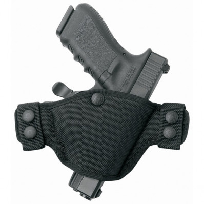 Bianchi Model 4584 Evader Holster, Glock 17/22, 20/21, 19/23, Right Hand, Black