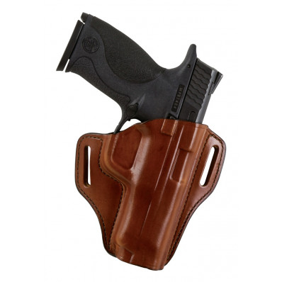 Bianchi Model 57 Remedy Open-Top Holster, Ruger LCR .38 Special, Right Hand, Plain Tan