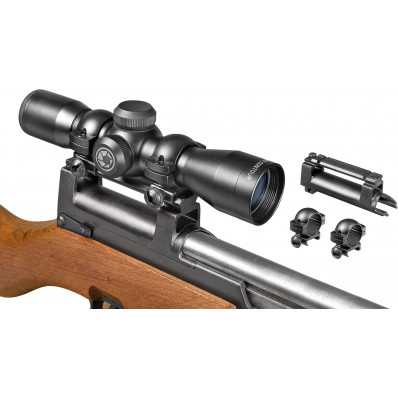 "Barska Contour Series Rifle Scope - 4x32mm 30/30 23.57-7.86 3.35"" Matte"