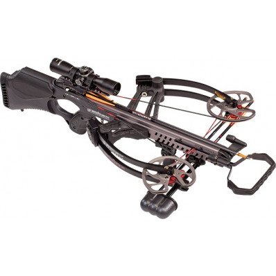 Barnett Vengeance Crossbow Package-Carbon Fiber Finish