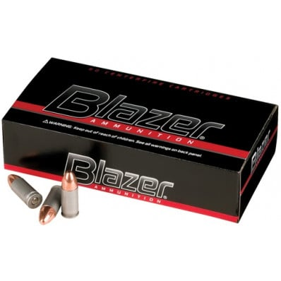 Blazer Ammunition .25 ACP 50 gr TMJ 755 fps 50/box