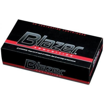Blazer Ammunition .38 Spl +p 158 gr TMJ 850 fps 50/box