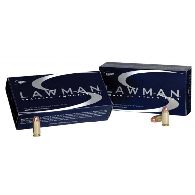 Speer Lawman Ammunition .38 Spl (+P) 158 gr TMJ 900 fps 50/box