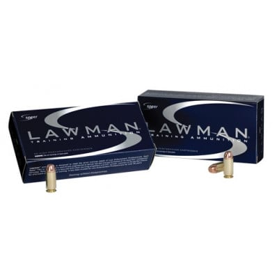 Speer Lawman Ammunition .45 GAP 185 gr TMJ 1060 fps 50/box
