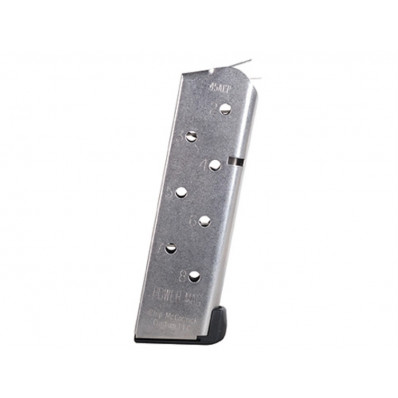 Chip McCormick Compact Power Magazine - 1911 .45 ACP, Stainless Steel, 8 rds.